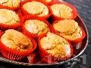 Рецепта Мъфини с мариновани сушени домати